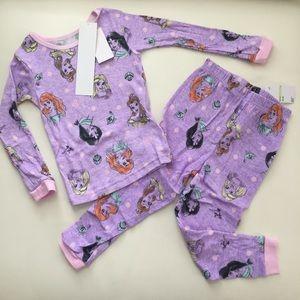 Disney Princess Cute Pajama Set